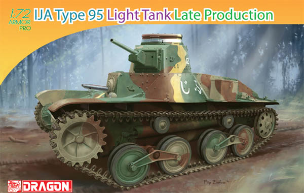 IJA Type 95 Light Tank Late Production