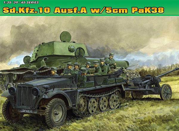 Dragon Models Sd.Kfz. 10 Ausf. A with 5cm Pak 38