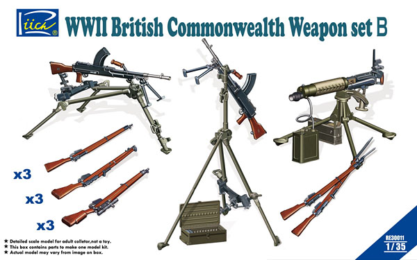 wwii-british-weapon-set