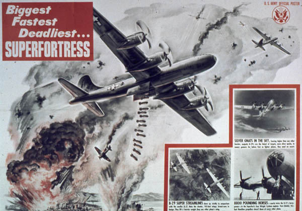 Biggest, fastest, deadliest... Superfortress