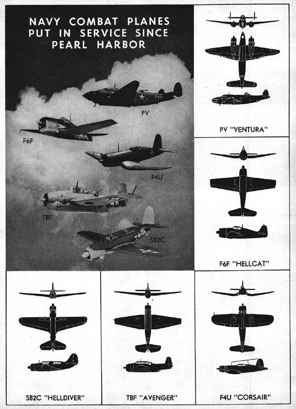 wwii-navy-combat-planes