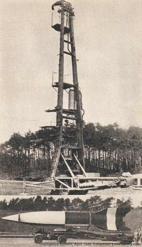 V-2 Rocket and Launch Stand