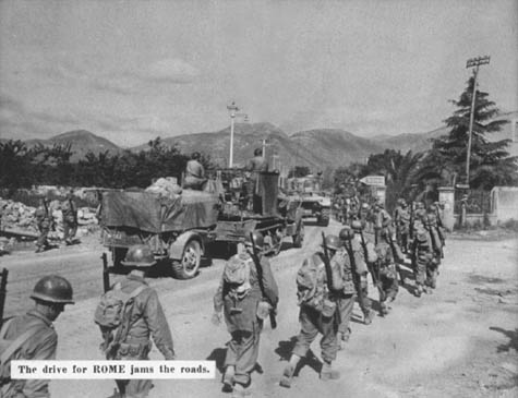 Lone Sentry: 5th Army Antiaircraft, Salerno to Florence, 9 September 1943 -  8 September 1944, WWII Unit History