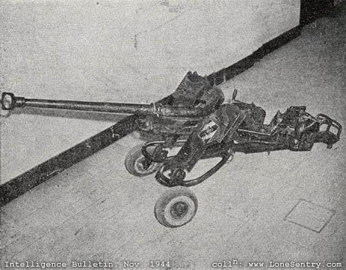 German 50 Mm Anti Tank Gun: German Antitank Weapons, WWII U.S. Intelligence Bulletin