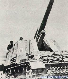 Hummel 150 mm PzKw IV