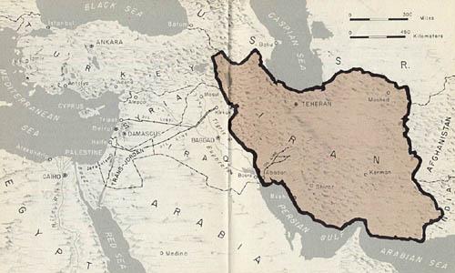 great salt desert iran map