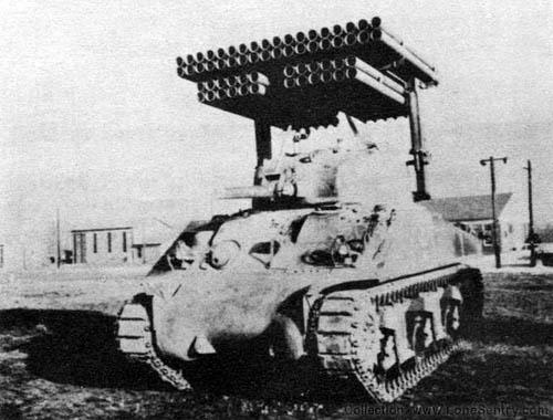 Rocket Launcher T-34 Calliope