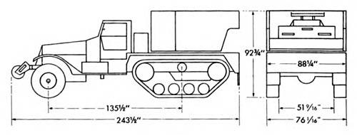 carriage  motor  multiple gun  m15a1