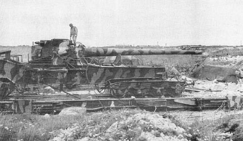 20 cm K. (E): Railway Gun
