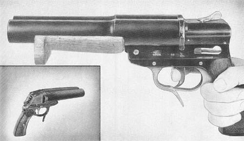 27 mm Doppel Schuss: Double Barrel Signal Pistol