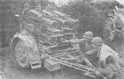 28/32 cm Nebelwerfer 41: Rocket Projector