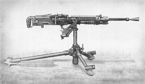 6.5 mm Heavy Machine Gun Model 3 (1914)