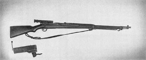 Japanese 6.5 mm Sniper's Rifle Model 97 (1937)
