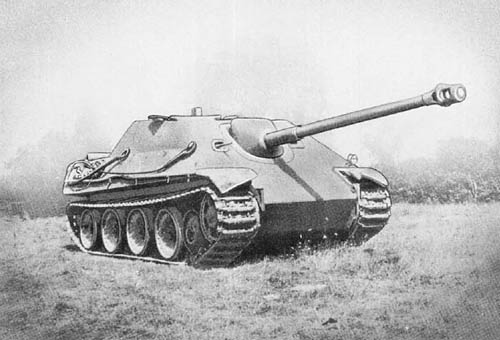 Jagdpanther - Pz. Jäg. Panther für 8.8 cm Pak 43/3 (Sd. Kfz. 173)