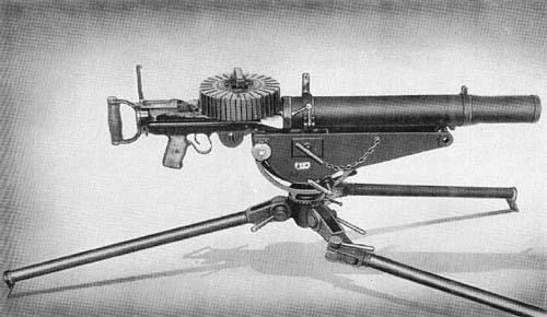 7.7 mm Lewis Machine Gun Model 92 (1932)