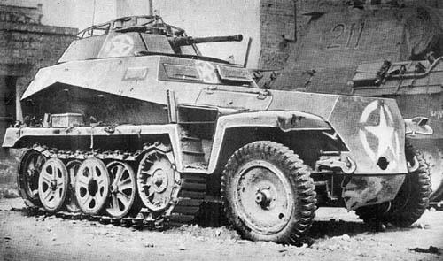 Leichtes Schutzenpanzerwagen Sdkfz 250/9