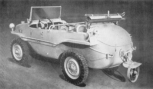 Kfz. 2 S: Amphibious Volkswagen Schwimmwagen