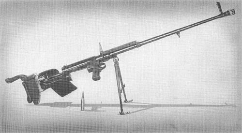 7.92 mm M SS 41: Antitank Rifle