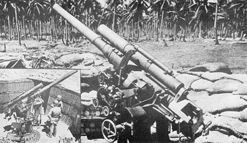8 cm (7.62) High Angle Gun, Type 3 - Japanese