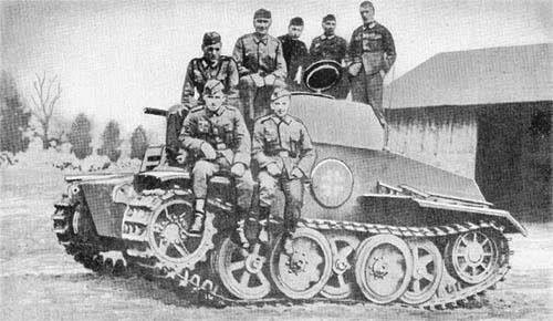 Pz. Sp. Wg. II Luchs (Sd. Kfz. 123) -- Lynx: Full-Tracked Armored Car