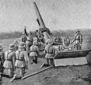 German 15 cm K. 16: Heavy Field Gun