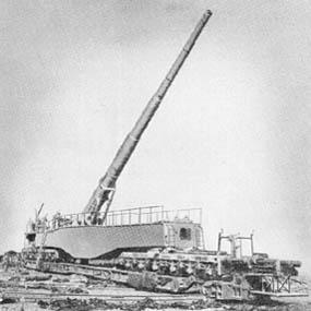 28 cm K5 (E): Railway Gun