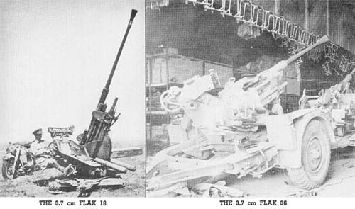 3.7 cm Flak 18 and Flak 36: Antiaircraft Gun