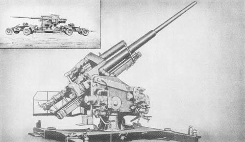 12.8 cm Flak 40: Heavy Antiaircraft Gun
