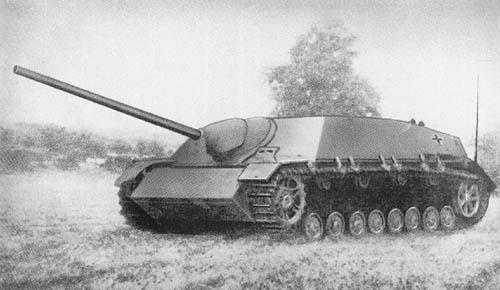 Pz. Jäg. IV für 7.5 cm Stu. K. 42 (L/70) Sd. Kfz. 162: Self-Propelled Antitank Gun