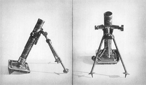 German Kz. 8 cm. Gr. W. 42: Short Mortar