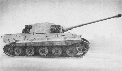 Pz. Kpfw. VI (B) Tiger für 8.8 cm Kw. K. 43 L/71 (Sd. Kfz. 182): Heavy Tank (King Tiger or Royal Tiger)