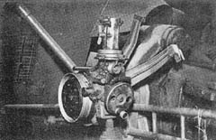 Sight Mount for 10.5 cm Howitzer: 10.5 cm le. F. H. 18