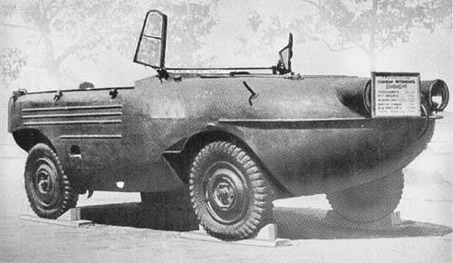 Trippel S.G. 6 Schwimkraftwagen: Amphibious 1/4-ton Truck, Model 1942