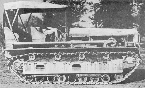 13-Ton Prime Mover Model 95A (1935) - Japanese, World War II