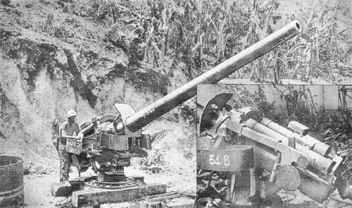 140 mm Seacoast Gun Type 3 -- Japanese, WWII
