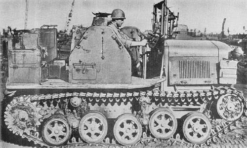 4-Ton Prime Mover Model 94 (1934) - Japanese WWII