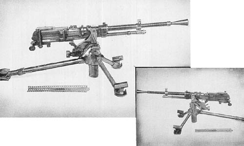 Japanese 7.7 mm Heavy Machine Gun Model 01 (1941)