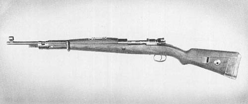 German 7.92 mm Gewehr 33/40: Carbine