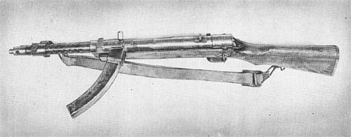 8 mm Submachine Gun, Type 100 (1940)