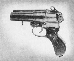 Double Barrel Signal Pistol