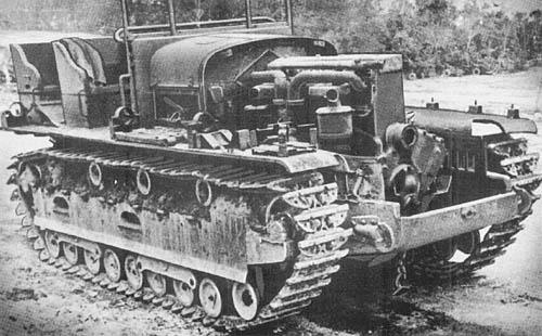 13-Ton Prime Mover Model 95B (1935)