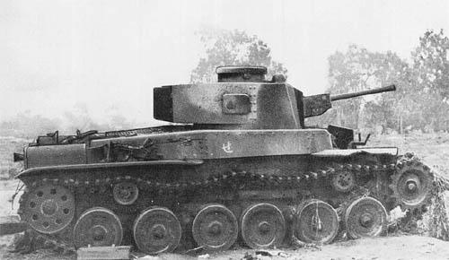 Japanese Medium Tank Model 2597 (1937) (Special)
