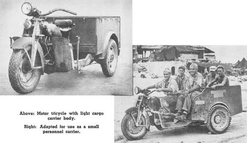 Japanese WWII Motor Tricycle (Kurogane)