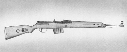 7.92 mm Karabiner 43 (Kar. 43): Semiautomatic Rifle