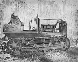 Japanese Kato 70 Artillery Tractor