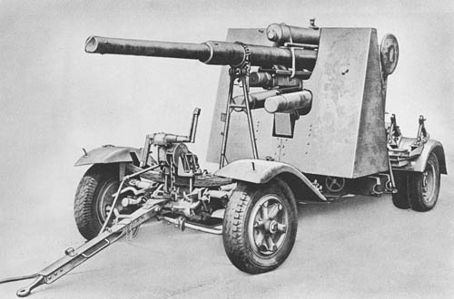 German 88mm Flak 18, 36, and 37