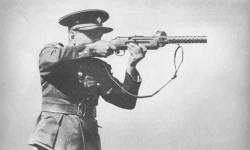 9mm M.P. 18 Bergmann Submachine Gun