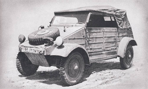 Kubelwagen - Volkswagen, German Jeep