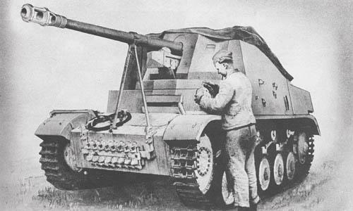 Pz. Jäg. II Aus. A-E u.F für 7.5 cm Pak 40 (Sd. Kfz. 131): S.P. Antitank Gun: Marder II