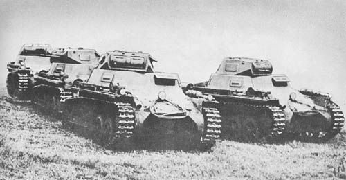 Pz. Kpfw. I Ausf. A (Sd. Kfz. 101): Light Tank